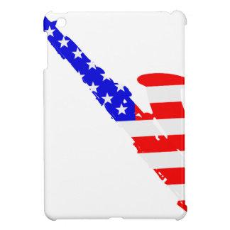 Saxophone Flag Background iPad Mini Cover