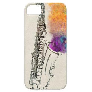 Saxophone Healing iPhone 5 Covers