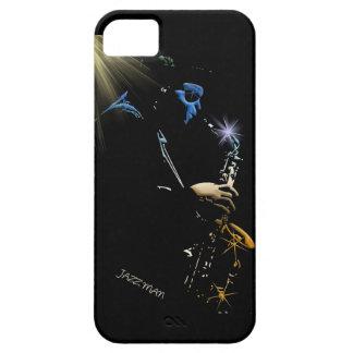 Saxophone Jazz Player Art Design iPhone 5 Covers