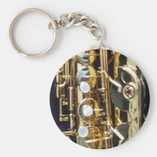Saxophone Keychain