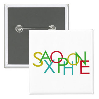 SAXOPHONE Letters Button