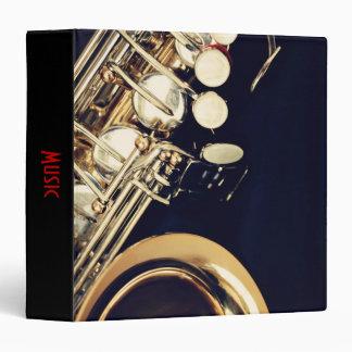 Saxophone Music Binder