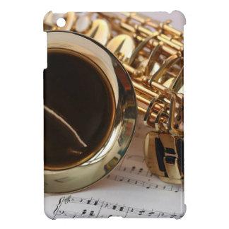 Saxophone Music Gold Gloss Notenblatt Keys Cover For The iPad Mini