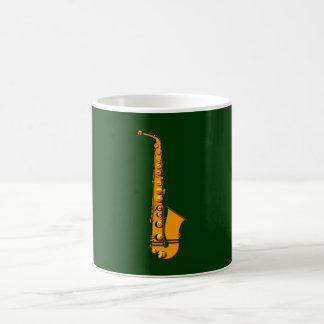 Saxophone of saxophones sax coffee mug