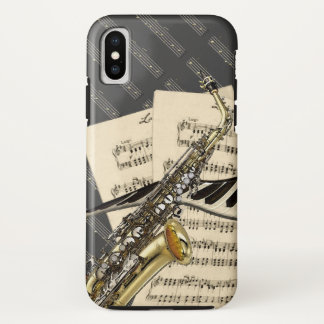 Saxophone & Piano Music Case-Mate iPhone Case