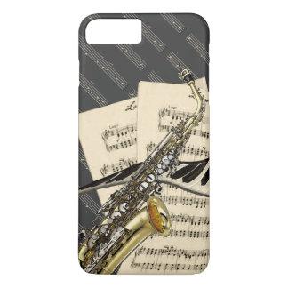 Saxophone & Piano Music iPhone 7 Plus Case