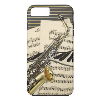 Saxophone & Piano Music iPhone 8 Plus/7 Plus Case