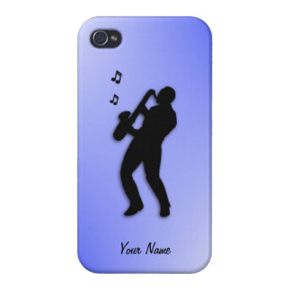 Saxophone Player custom 4s Cases For iPhone 4