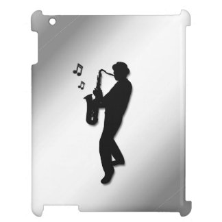 Saxophone Player iPad Cover
