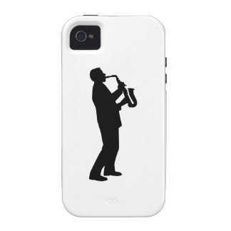 Saxophone player saxophonist iPhone 4/4S cases