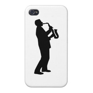 Saxophone player saxophonist iPhone 4/4S case