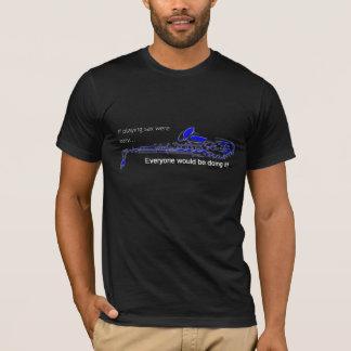 Saxophone Player Tee T-shirt Blackk