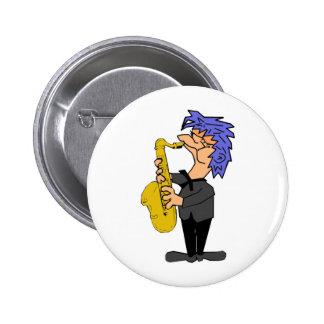 Saxophone Sam Pins