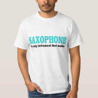 Saxophone Slogan With Music Attitude T-Shirt