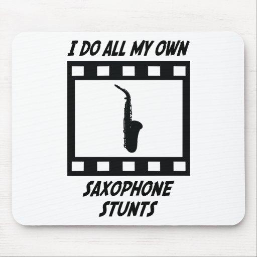 Saxophone Stunts Mouse Mat