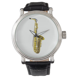 Saxophone Watch