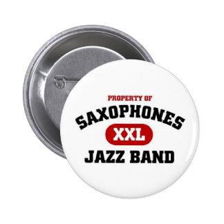 Saxophones XXL Jazz band Pin