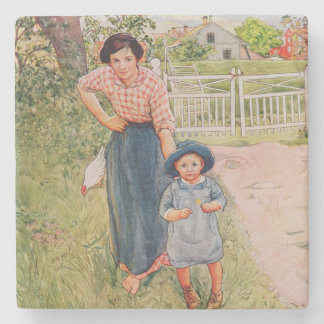 Say a Nice How Do You Do to Your Uncle, 1917, from Stone Coaster