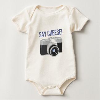 Say Cheese Baby Bodysuit