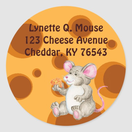 Say Cheese Classic Round Sticker