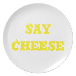 Say Cheese Dinner Plate