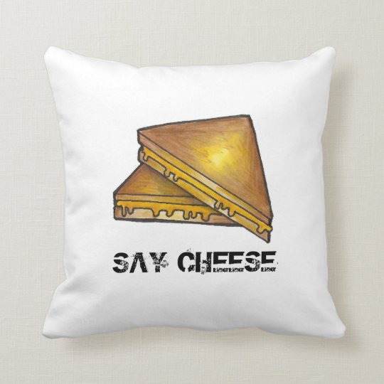 Say Cheese Grilled Toasted Cheddar Sandwich Pillow