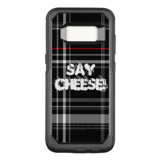 say cheese plaid OtterBox commuter samsung galaxy s8 case