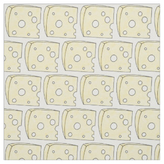 Say Cheese Swiss Cheeses Dairy Food Fabric