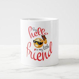 Say Hello Large Coffee Mug