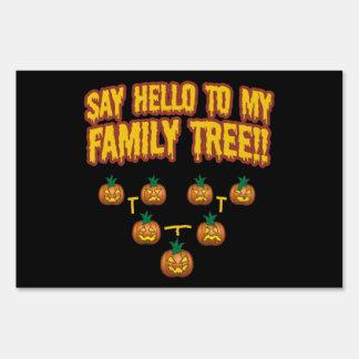 Say Hello To My Family Tree