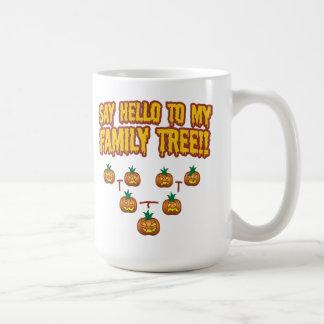 Say Hello To My Family Tree Mugs