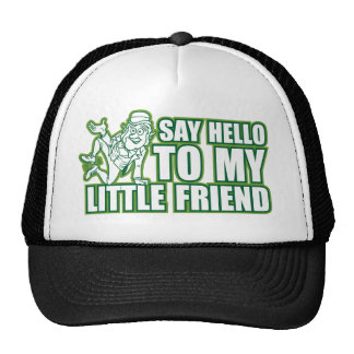 say hello to my little friend hat