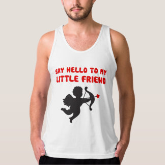 Say Hello To My Little Friend Valentine's Day Tank Top