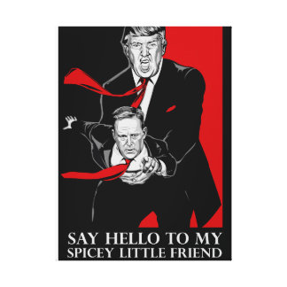Say Hello To My Spicey Little Friend Wall Art