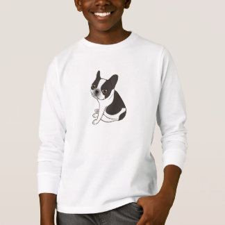 Say hello to the cute double hooded pied Frenchie T-Shirt