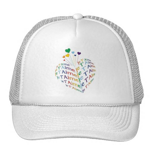 """Say, """"I Love You"""" in French /  Hat"""