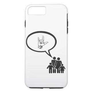 "Say ""I Love You"" iPhone 8 Plus/7 Plus Case"