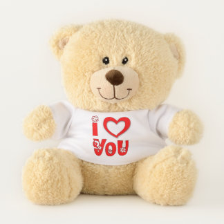 Say I Love You with Heart Teddy Bear