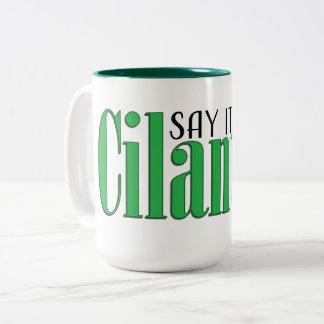 Say it ain't cilantro Two-Tone coffee mug