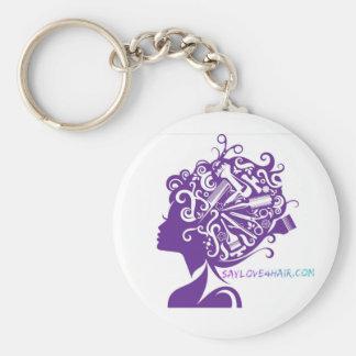 Say Love For Hair Keychain