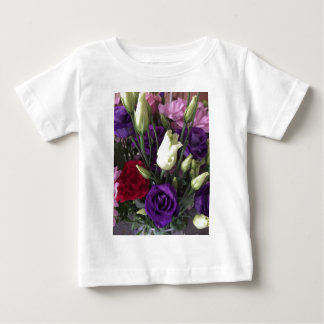 Say Love you with Flowers Baby T-Shirt