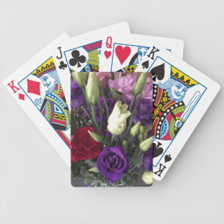 Say Love you with Flowers Bicycle Playing Cards