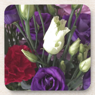 Say Love you with Flowers Coaster