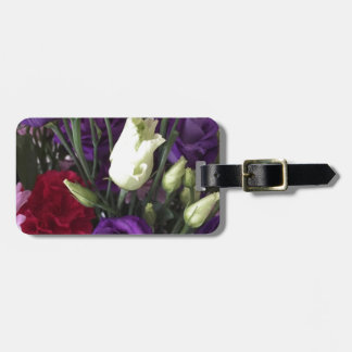 Say Love you with Flowers Luggage Tag