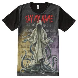 Say My Name: Hastur Hastur Hastur All-Over-Print T-Shirt