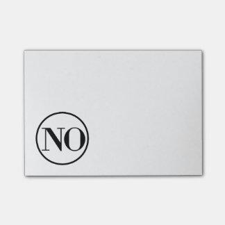 Say No Sassy Note Pad