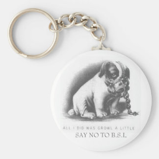 SAY NO TO B.S.L KEYCHAIN