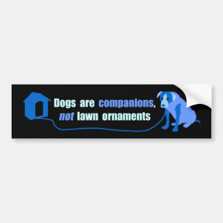 Say NO to Chaining Bumper Sticker