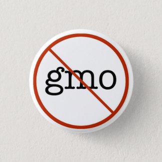 Say No To GMO 1 Inch Round Button