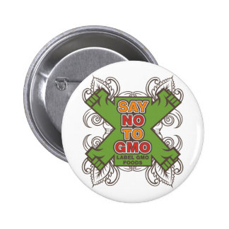 Say No to GMO Pinback Buttons